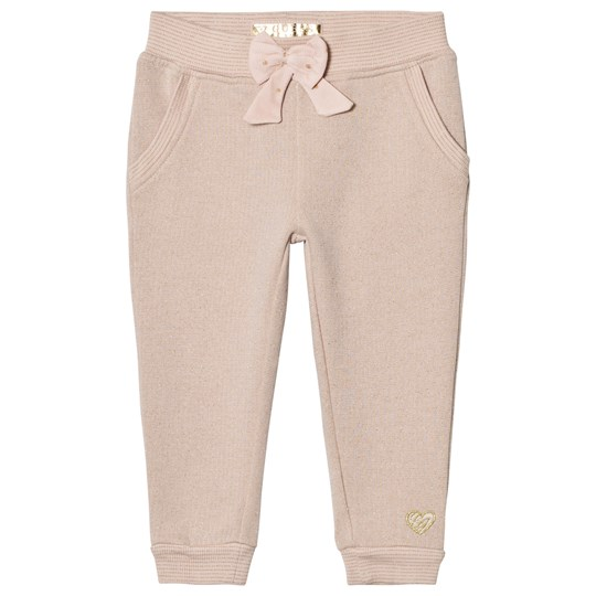 Guess Pink Glitter Sweatpants Bow Detail G604
