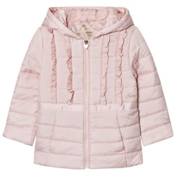Guess Pale Pink Padded Coat