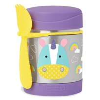 Skip Hop Zoo Insulated Food Jar Unicorn Purple