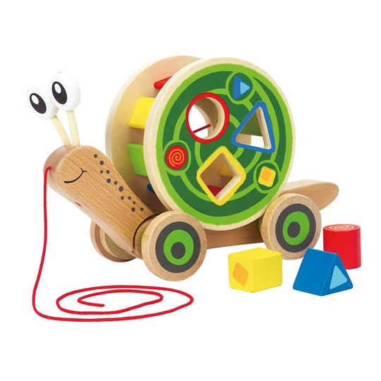 Hape Walk-A-Long Snail Unisex