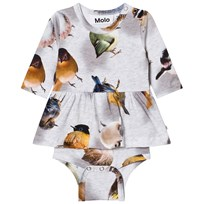 Molo Baby Body Frances Bouncing Birds Bouncing Birds