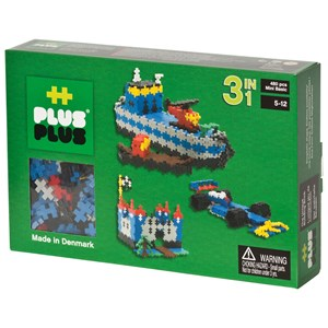 Image of Plus Plus Plus Plus MINI Basic 3in1 480 pcs (3037563703)
