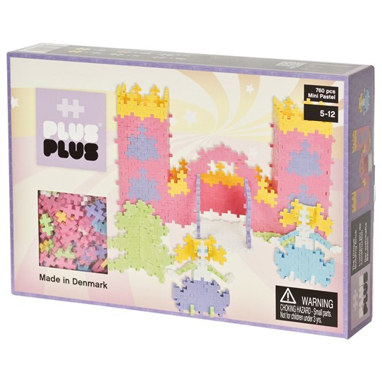 Plus-Plus The Plus Plus MINI Pastel Castle 760 pcs Unisex
