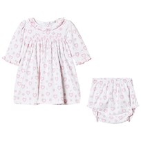 Kissy Kissy Pink Floral Heart Print Dress and Knickers Set PK