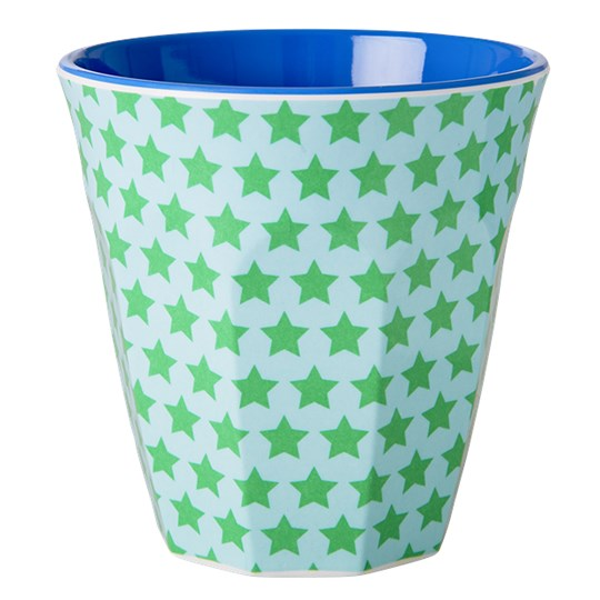 Rice Melamine Cup Star Print Multi