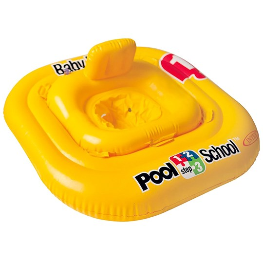 Suntoy Deluxe Baby Float Pool School Step 1 Keltainen