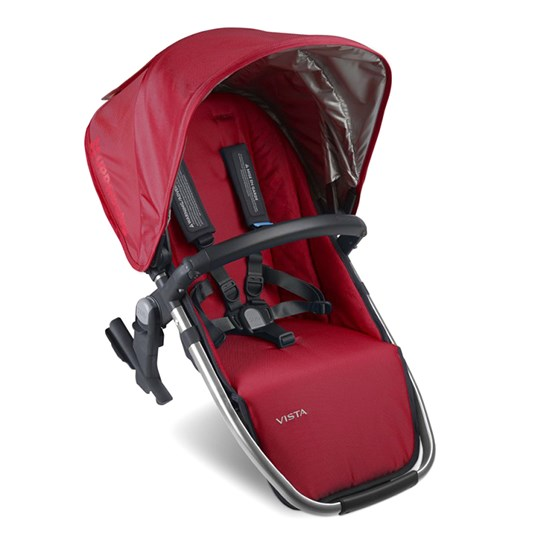 UPPAbaby Vista Syskonsits RumbleSeat Denny Red Red