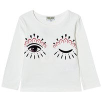 Kenzo Cream Eye Print Long Sleeve Tee 11