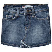 Levis Kids Blue Denim Skirt with Contrast Pocket 46