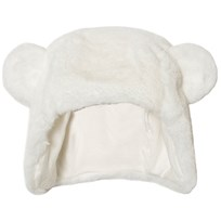 Absorba Cream Faux Fur Eared Hat 11