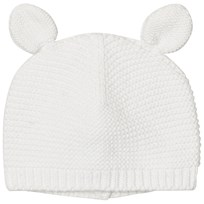 Absorba Cream Knit Eared Hat 11