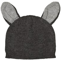 Absorba Grey Knit Beanie with Ears 29