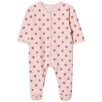 Absorba Pink Spot Padded Footed Baby Body 31