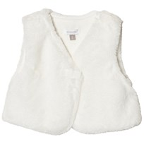 Absorba Cream Faux Fur Gilet 11