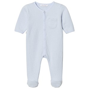 Image of Absorba Pale Blue Textured Babygrow 12 months (2743805847)