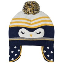 Absorba Navy Penguin Knit Bobble Hat 48