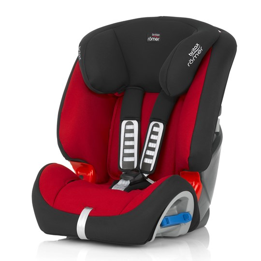 Britax Multi-Tech Car Seat II Flame Red Red