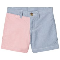 Ralph Lauren Patchwork Cotton Oxford Short 001