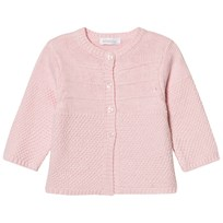 Absorba Pale Pink Cashmere-Cotton Textured Knit Cardigan 30