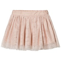 Stella McCartney Kids Pale Pink Honey Hotfix Skirt 5769