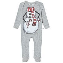 Stella McCartney Kids Grey Snowman Rufus Body 1461