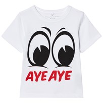Stella McCartney Kids Aye Aye Arlo T-shirt Vit 9082