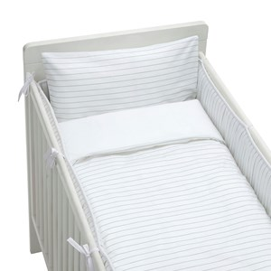 Image of rattstart Bed Set Crib Bed Pinstripe (2743720465)