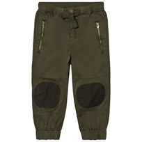 Stella McCartney Kids Almond Khaki Patch Pants 2470