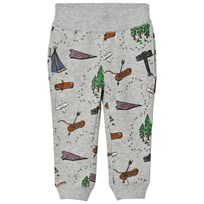 Stella McCartney Kids Zachary Explorer Print Byxor Grå 1458