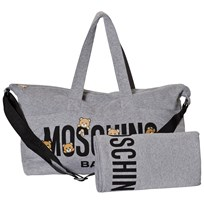 Moschino Kid-Teen Grey Bear Print Changing Bag 60901