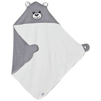 Moschino Kid-Teen Grey Bear Branded Blanket 60901