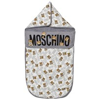 Moschino Kid-Teen Grey Bear Print Nest 60901