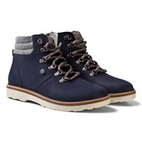 Mayoral Navy Lace Up Leather Boots 71