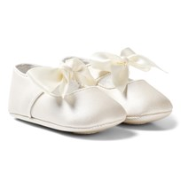 Mayoral Ivory Bow Buckled Mary Janes 70