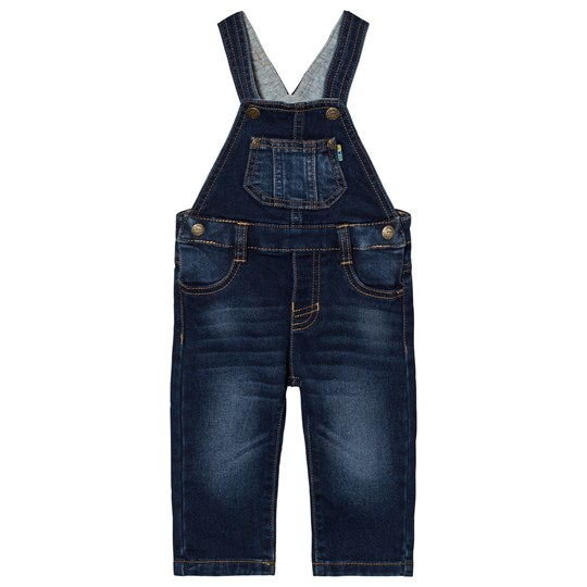 Mayoral Blue Mid Wash Dungarees 5