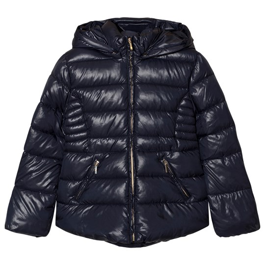 Mayoral Navy Hooded Puffer Jacket 50