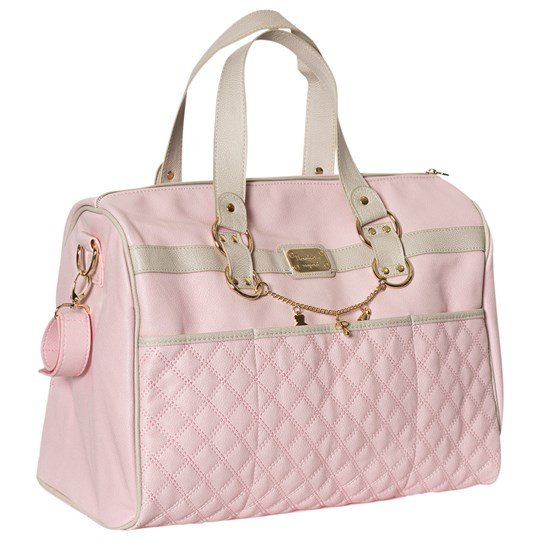 Mayoral Pink Faux Leather Quilted Changing Bag 32