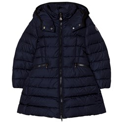 Moncler Charpal Down Puffer Jacket Navy
