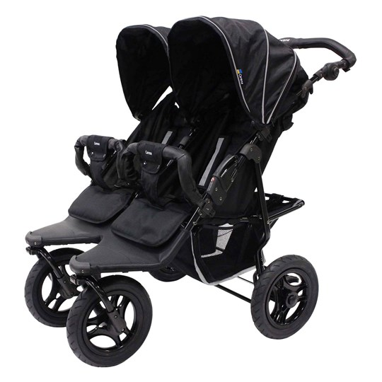 Carena Gotland Double Stroller 2017 Black Black