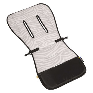 Image of Carena Gräsö Seat Liner Zebra Grey (3056051853)