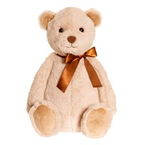 Teddykompaniet August Teddy Large Beige