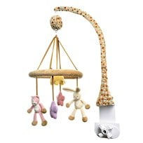 Teddykompaniet Musical Mobile Cat Rabbit