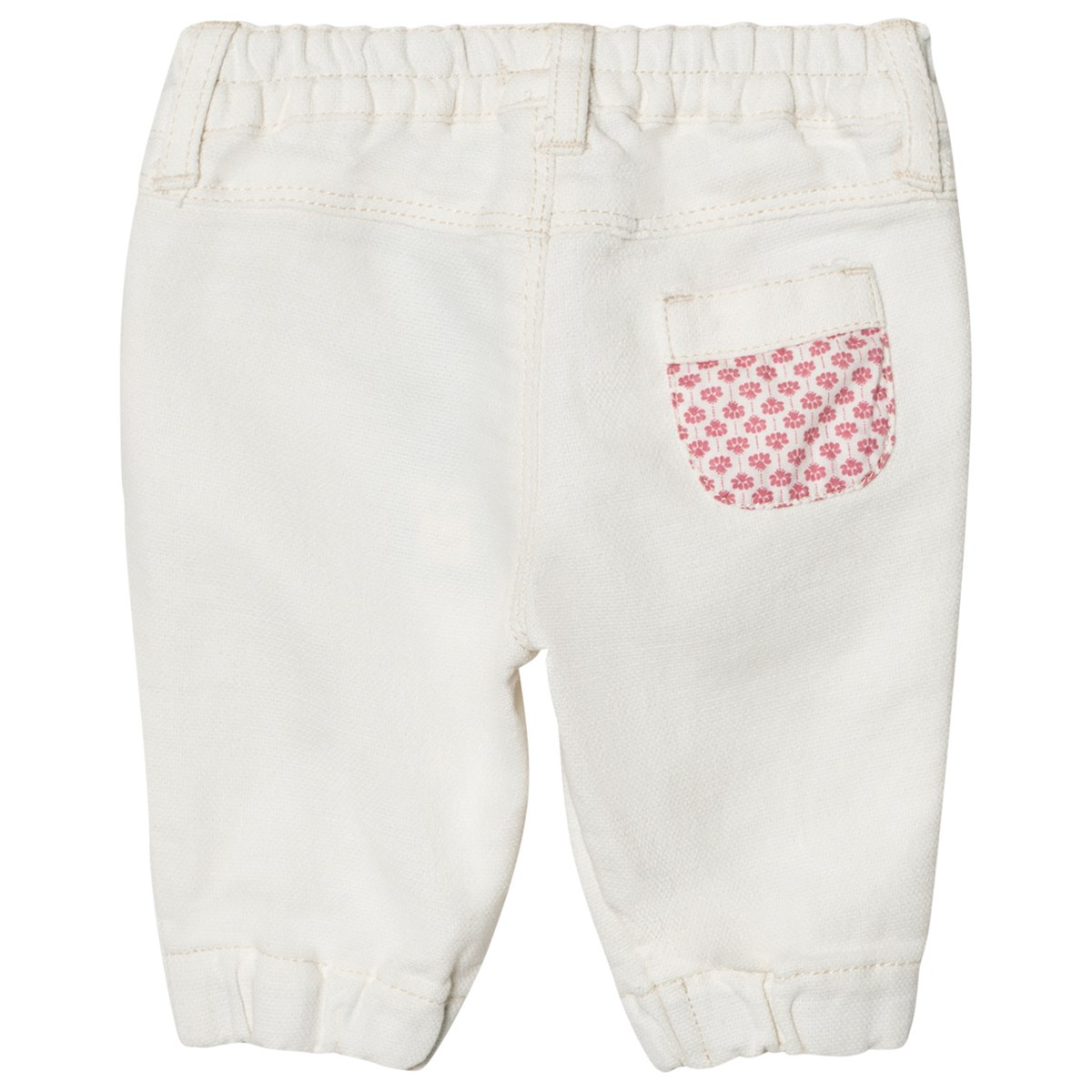 Woven Byxor Frill Front Cream - United Colors of Benetton - Babyshop 40199d7f1d986