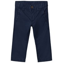 United Colors of Benetton Classic Chino Trouser Navy Marinblå