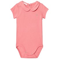 United Colors of Benetton Classic Logo Baby Body in Pink Pink