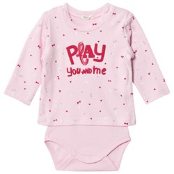 United Colors of Benetton Printed Sweater Baby Body Rosa