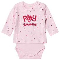 United Colors of Benetton Printed Sweater Baby Body Pink Pink