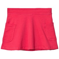 United Colors of Benetton Jersey A Line Skirt With Side Pockets Fuschia Pink Fuschia Pink