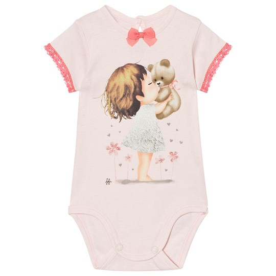 United Colors of Benetton Printed Baby Body Light Pink Light Pink