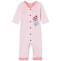 United Colors of Benetton Striped Pyjamas Sea Life Print Pink Pink